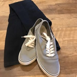 Gray shoes size 9